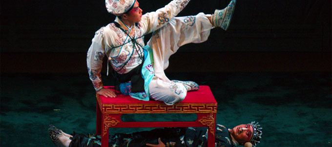 Peking Opera Show at Huguang Guild Hall